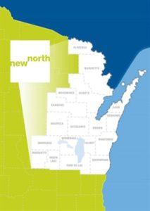 New North region graphic